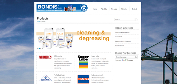 Bondis - Industrial Maintenance Products